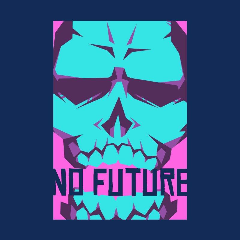 NO FUTURE Neon Skull by Graphic Violence