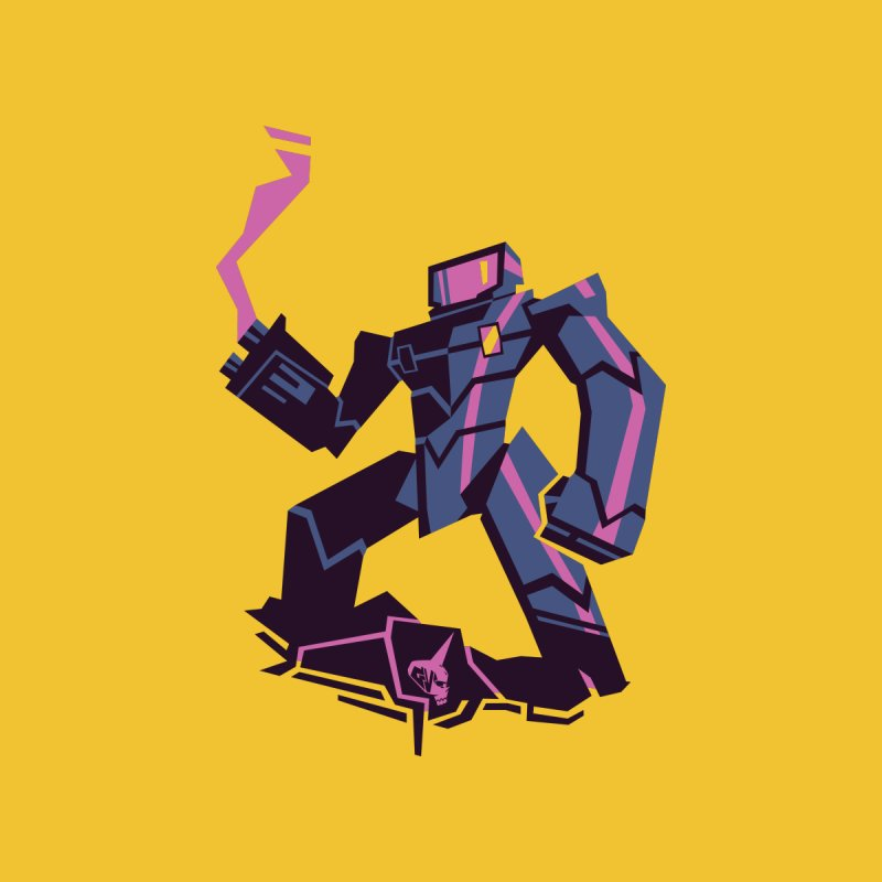 Neon Giant by Graphic Violence