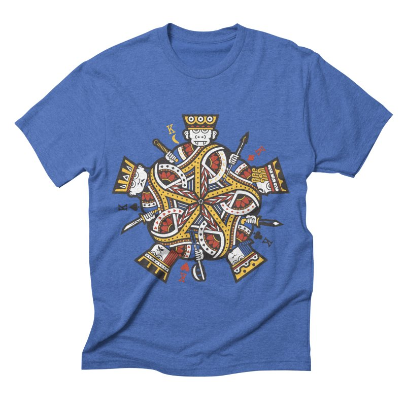 King of Kings Men's Triblend T-shirt by GRAPHIKLEE's Artist Shop