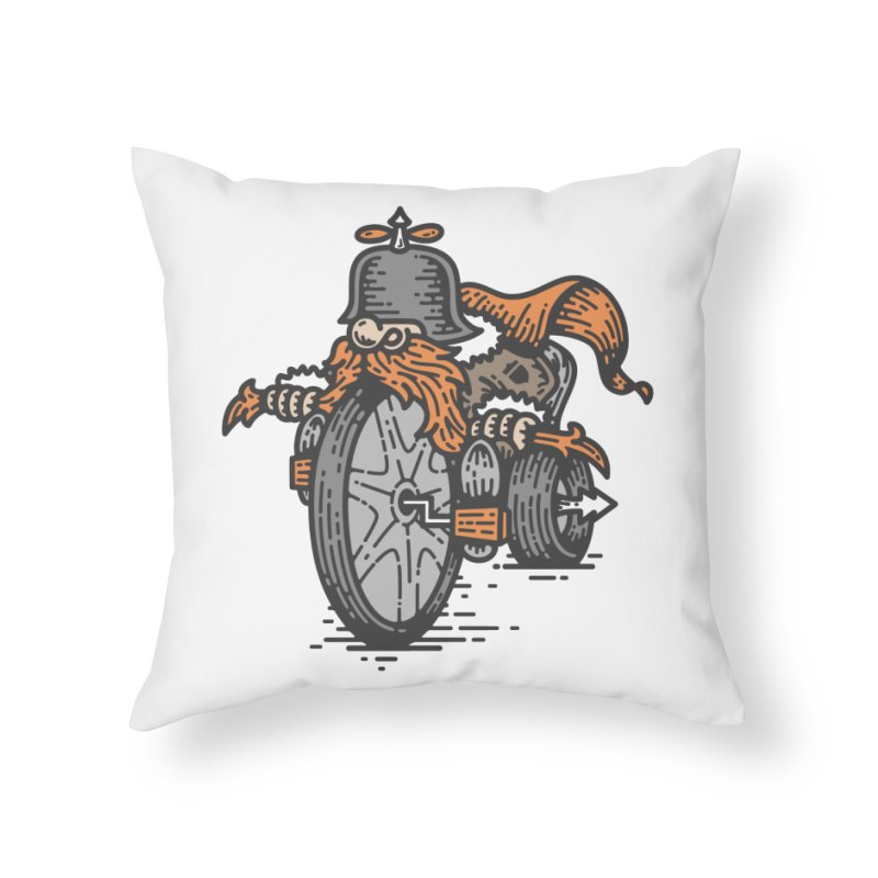 Handlebar Mustache Home Throw Pillow by GRAPHIKLEE's Artist Shop