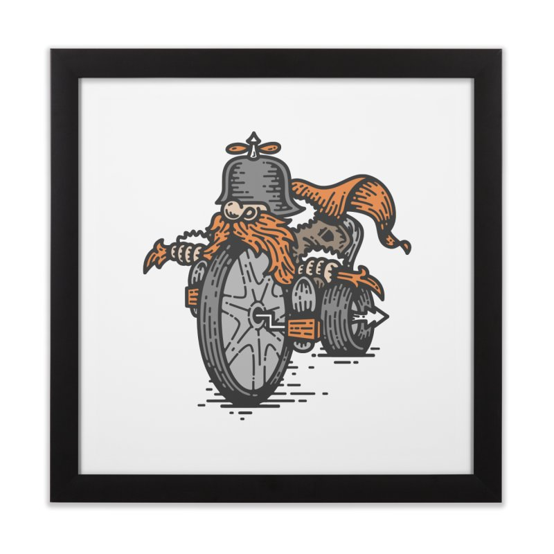 Handlebar Mustache Home Framed Fine Art Print by GRAPHIKLEE's Artist Shop