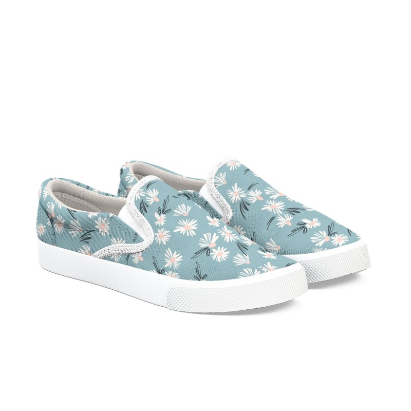 Daisies Flowers Women's Shoes by Graphsodia