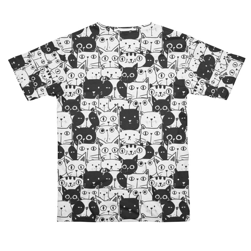 Cats Men's Cut & Sew by Graphsodia