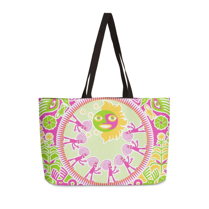 Pilgrimage to the Sun Accessories Bag by Grasshopper Hill's Artist Shop
