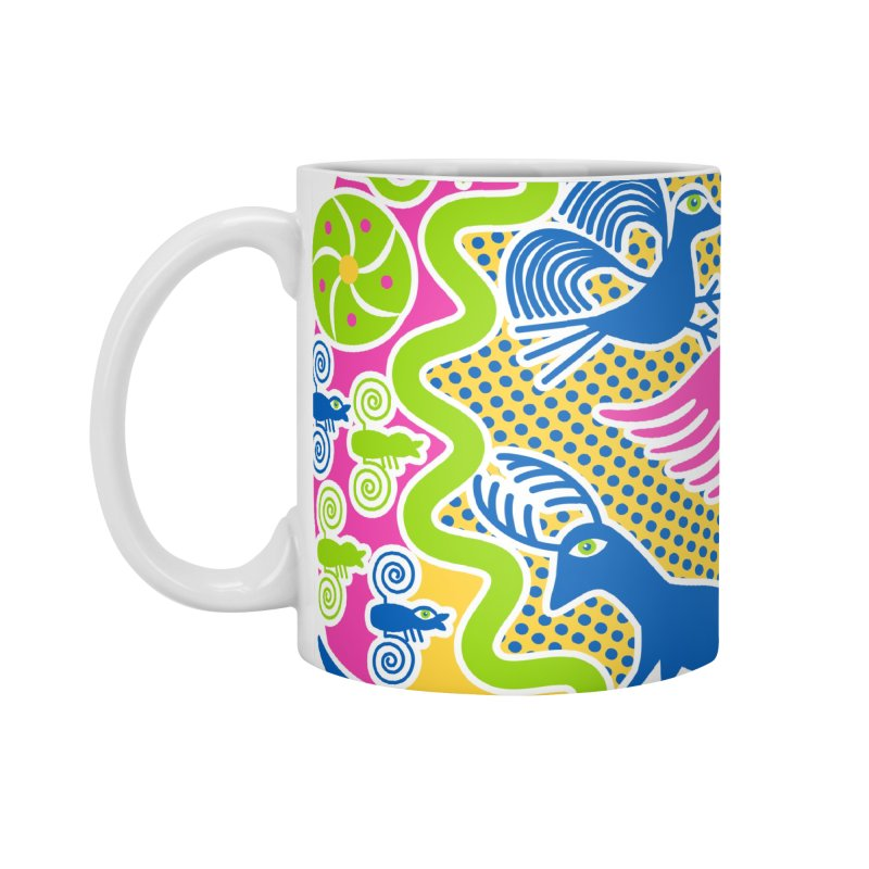 Animals & Sun God Accessories Mug by Grasshopper Hill's Artist Shop