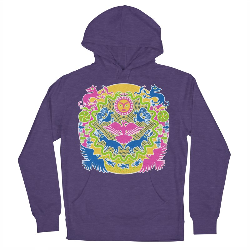 Animals & Sun God Women's Pullover Hoody by Grasshopper Hill's Artist Shop