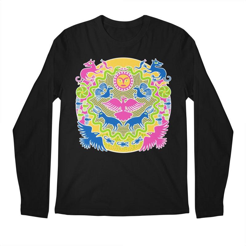 Animals & Sun God Men's Regular Longsleeve T-Shirt by Grasshopper Hill's Artist Shop