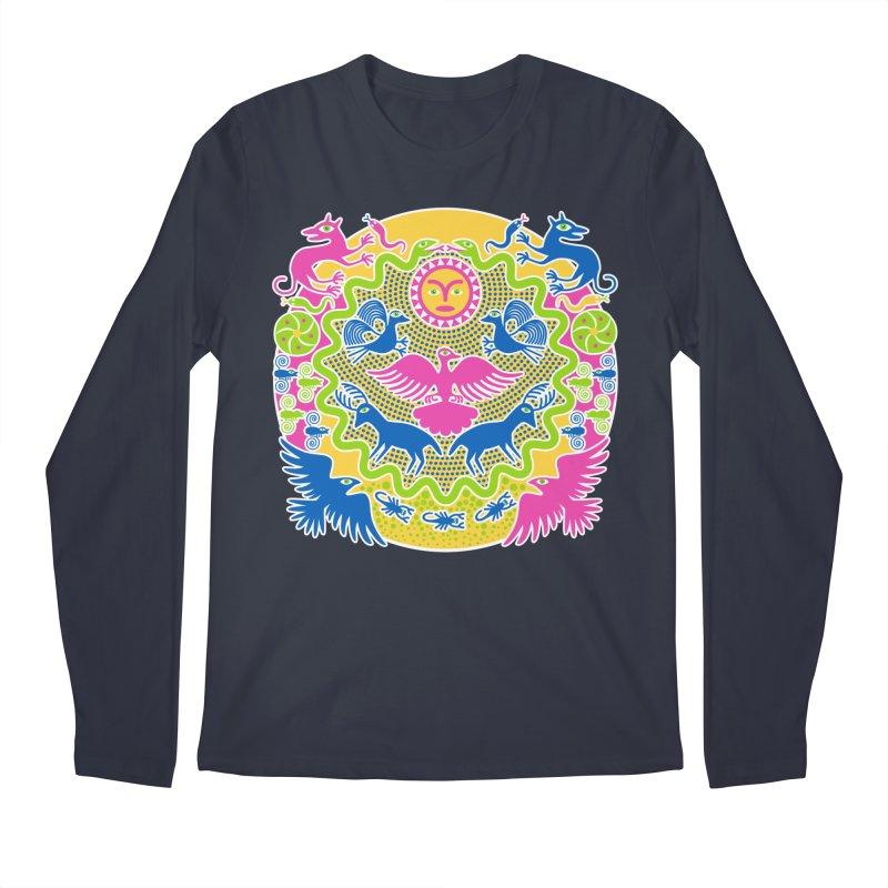 Animals & Sun God Men's Longsleeve T-Shirt by Grasshopper Hill's Artist Shop
