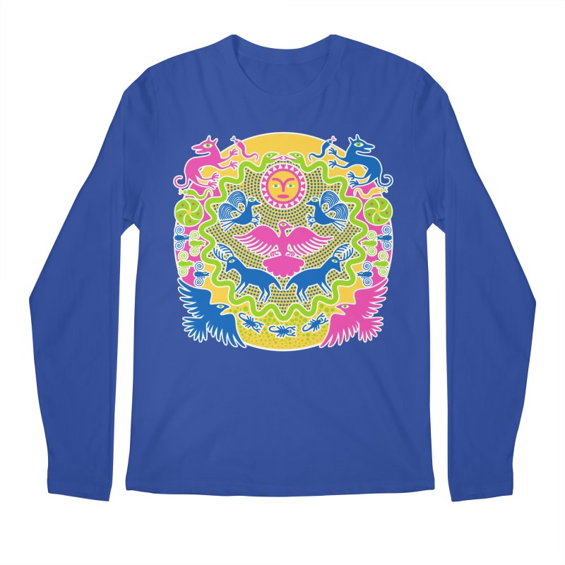 Animals & Sun God Men's Regular Longsleeve T-Shirt by Grasshopper Hill's Artist Shop