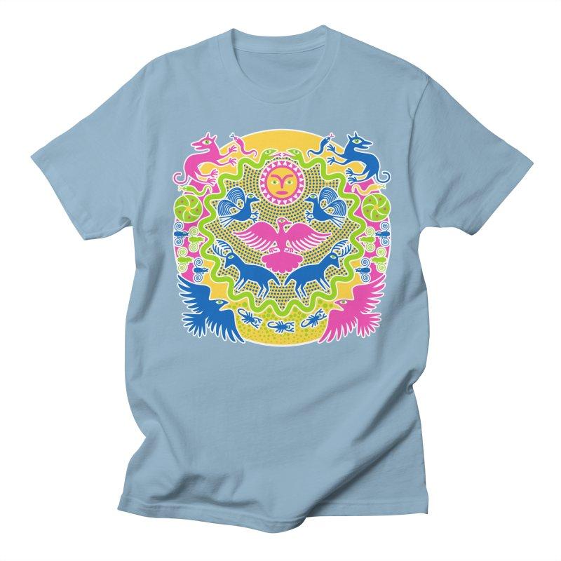 Animals & Sun God Women's Regular Unisex T-Shirt by Grasshopper Hill's Artist Shop
