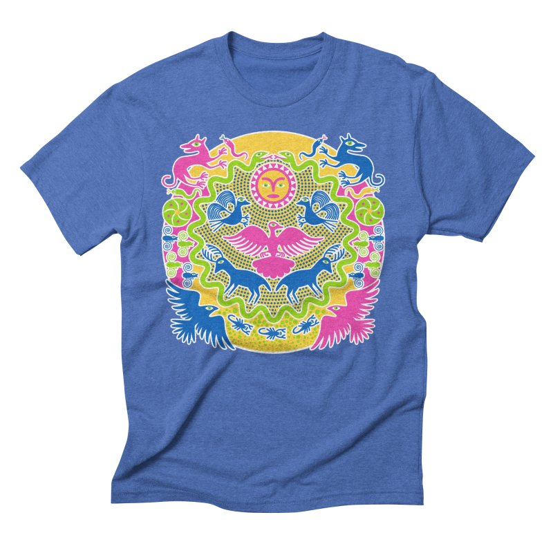 Animals & Sun God Men's T-Shirt by Grasshopper Hill's Artist Shop