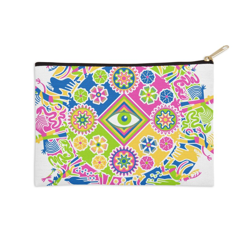 Vision Quest Accessories Zip Pouch by Grasshopper Hill's Artist Shop