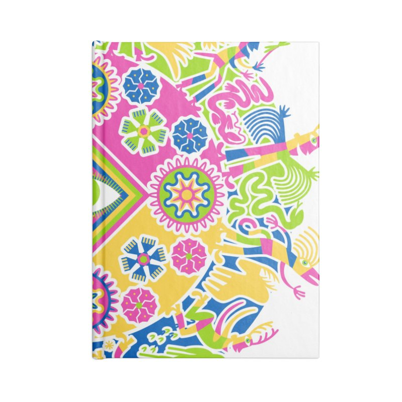 Vision Quest Accessories Lined Journal Notebook by Grasshopper Hill's Artist Shop