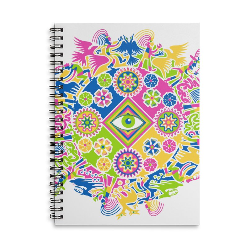 Vision Quest Accessories Lined Spiral Notebook by Grasshopper Hill's Artist Shop