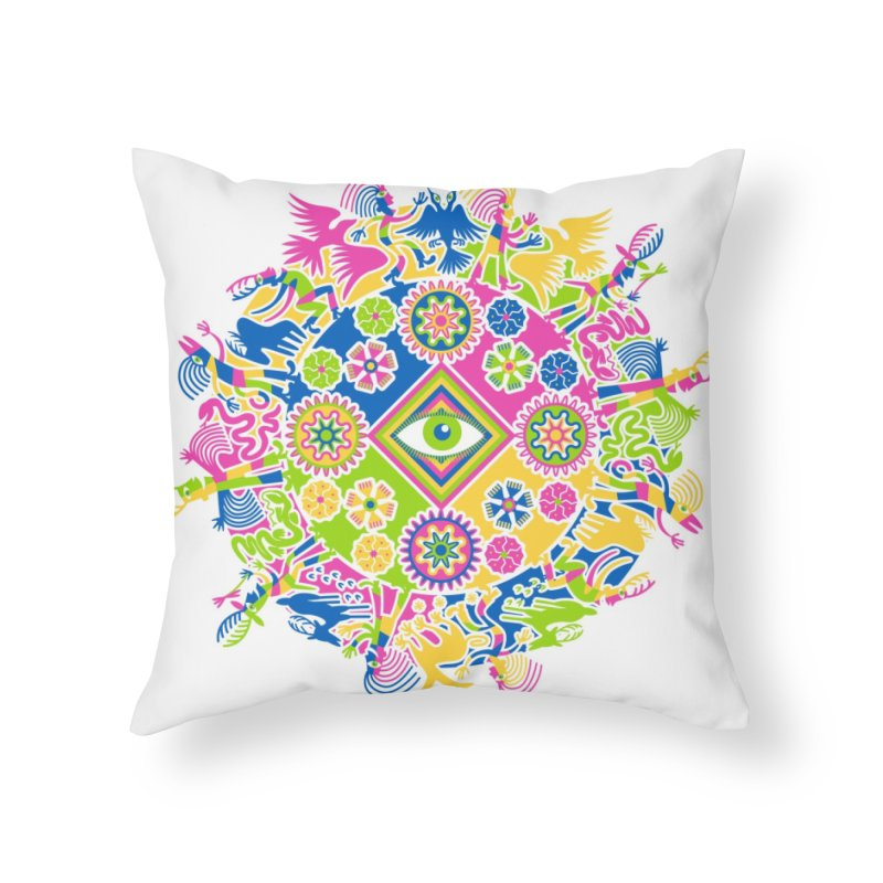 Vision Quest Home Throw Pillow by Grasshopper Hill's Artist Shop