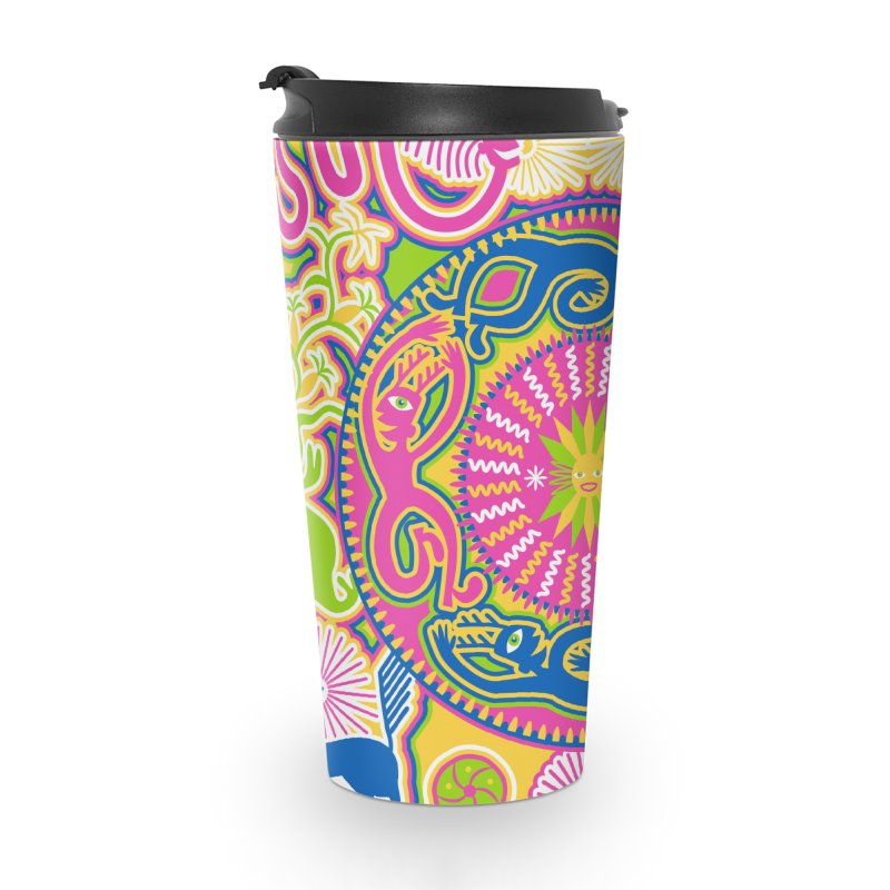 Creating Daylight Accessories Travel Mug by Grasshopper Hill's Artist Shop