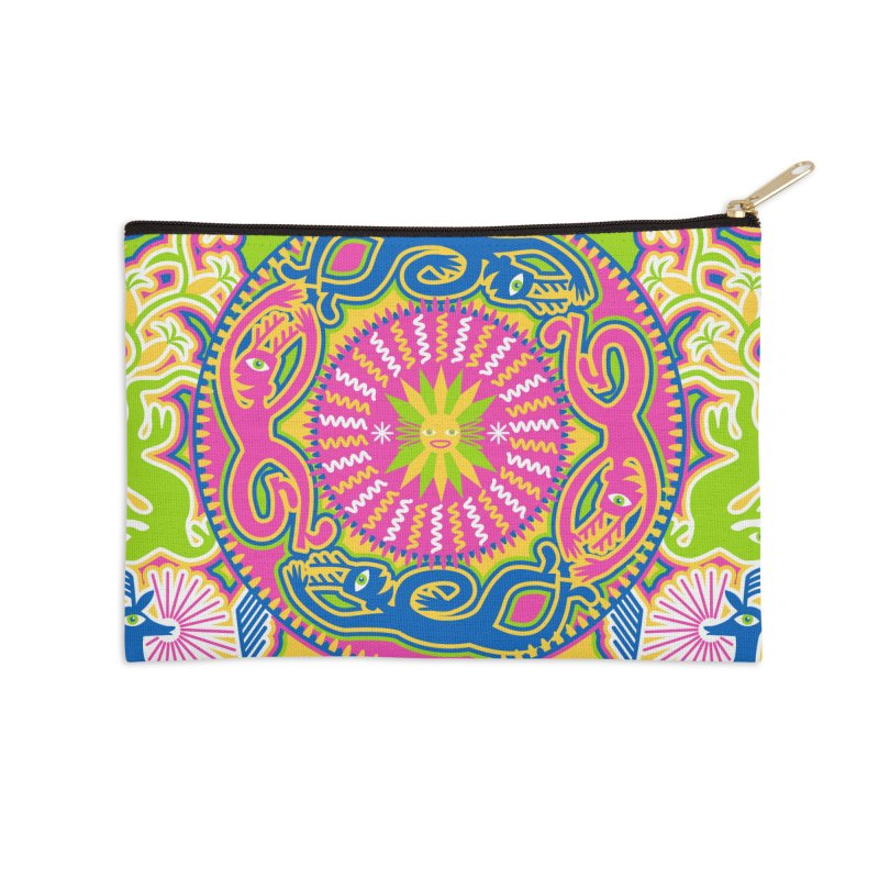 Creating Daylight Accessories Zip Pouch by Grasshopper Hill's Artist Shop