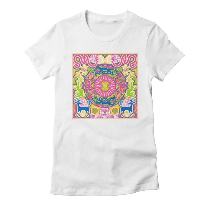 Creating Daylight Women's Fitted T-Shirt by Grasshopper Hill's Artist Shop