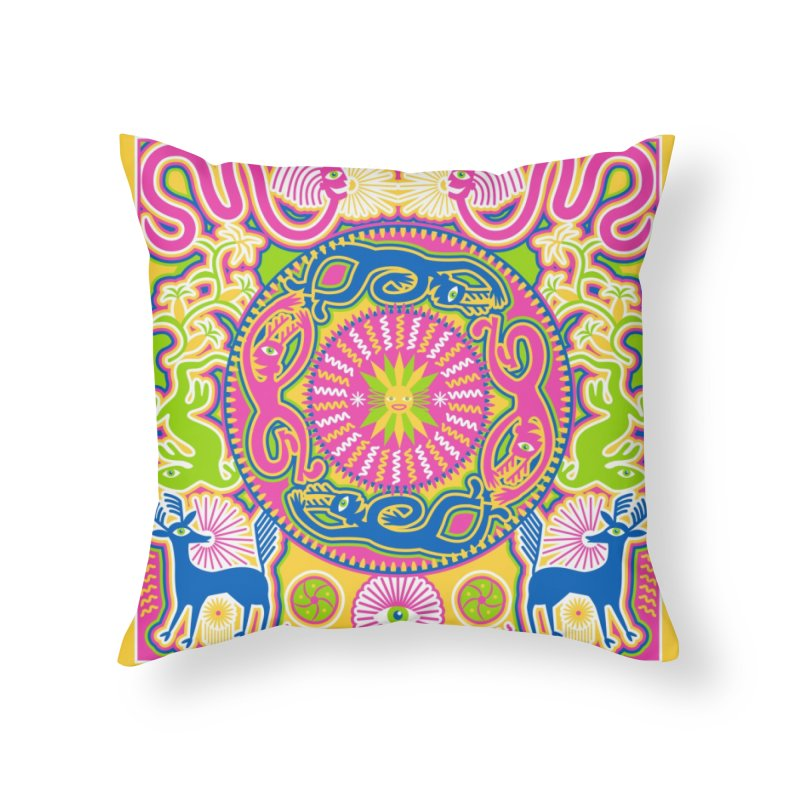 Creating Daylight Home Throw Pillow by Grasshopper Hill's Artist Shop