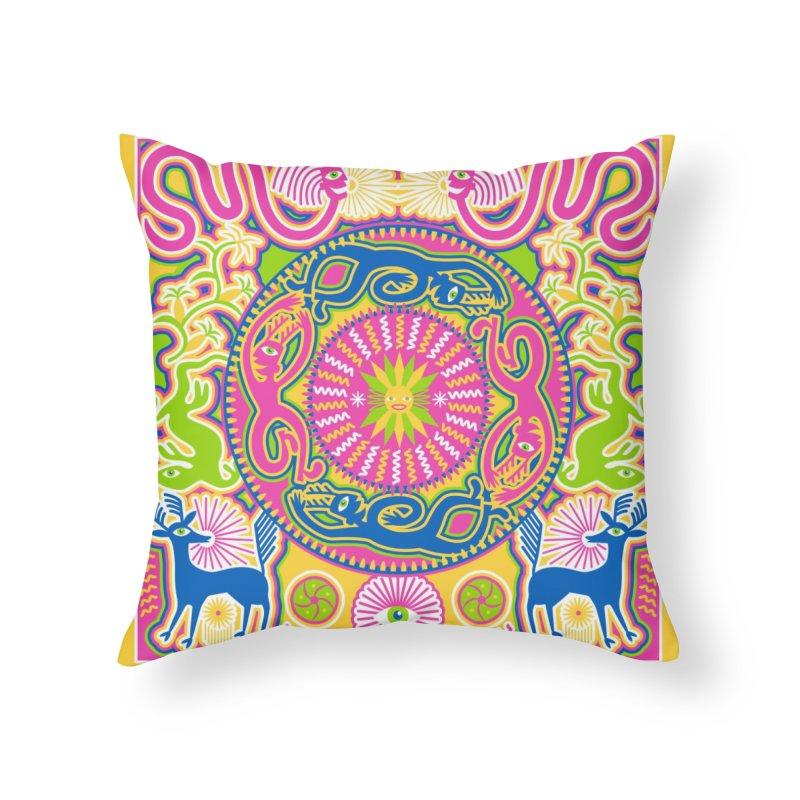 Creating Daylight Home Throw Pillow by Grasshopper Hill's Artist Shop