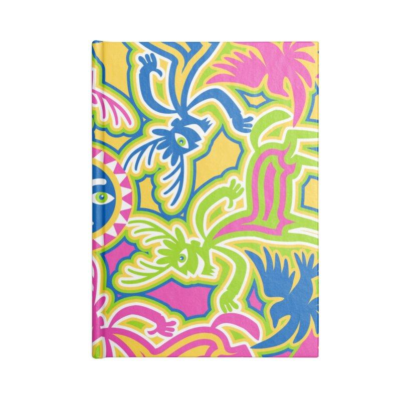 Spirit Guides Accessories Lined Journal Notebook by Grasshopper Hill's Artist Shop