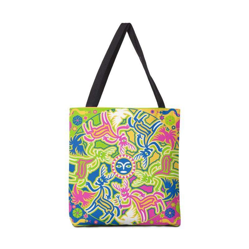 Spirit Guides Accessories Bag by Grasshopper Hill's Artist Shop