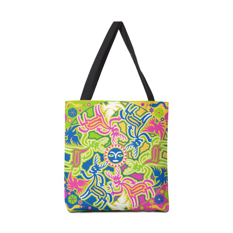 Spirit Guides Accessories Bag by Grasshopper Hill's Artist Shop