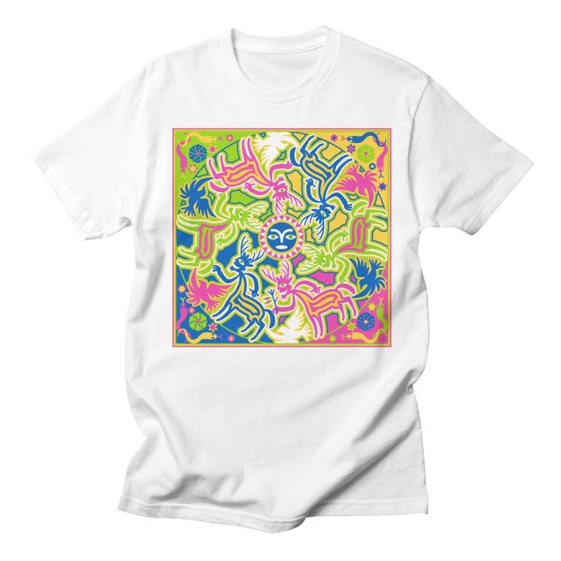 Spirit Guides Men's T-Shirt by Grasshopper Hill's Artist Shop