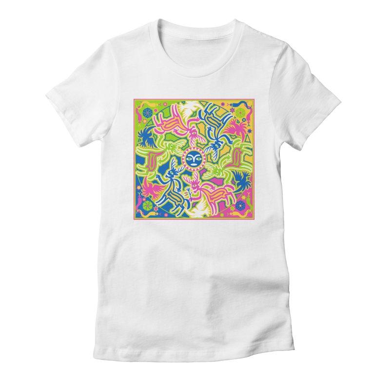 Spirit Guides Women's T-Shirt by Grasshopper Hill's Artist Shop