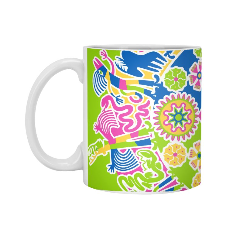 Vision Quest - green Accessories Standard Mug by Grasshopper Hill's Artist Shop