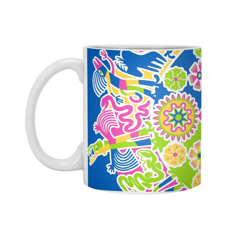 Vision Quest - blue Accessories Standard Mug by Grasshopper Hill's Artist Shop