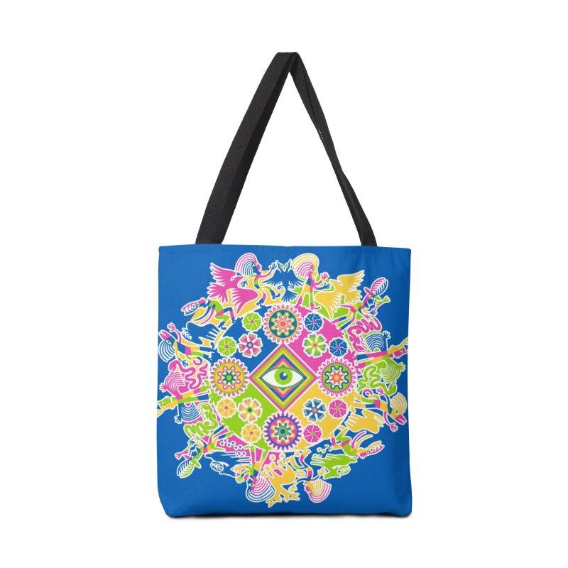 Vision Quest - blue Accessories Bag by Grasshopper Hill's Artist Shop