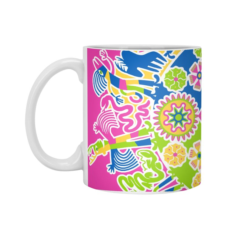 Vision Quest - pink Accessories Standard Mug by Grasshopper Hill's Artist Shop