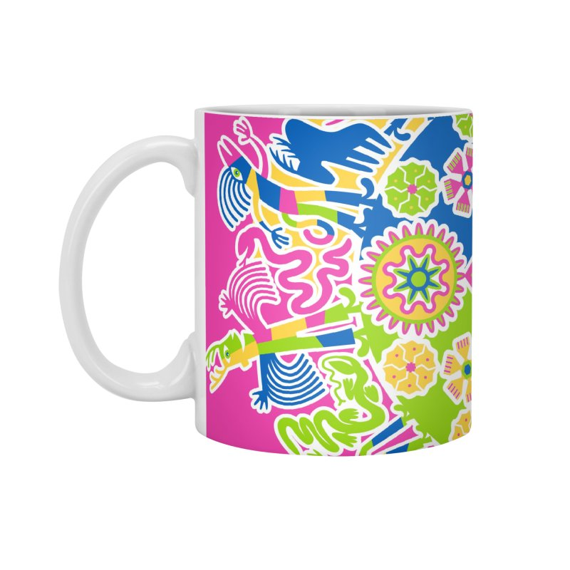 Vision Quest - pink Accessories Mug by Grasshopper Hill's Artist Shop