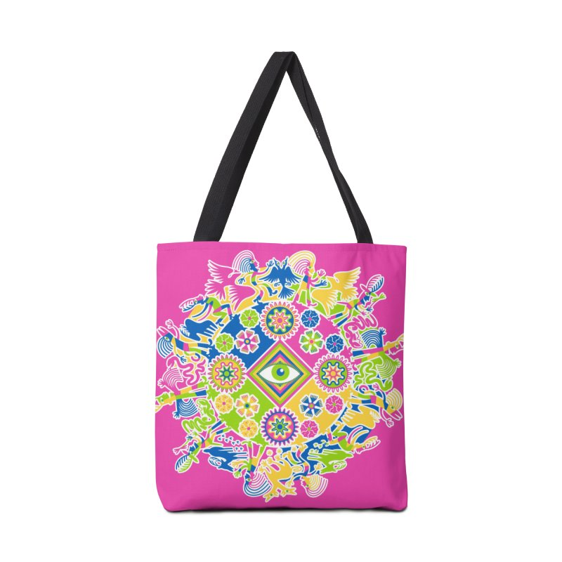 Vision Quest - pink Accessories Bag by Grasshopper Hill's Artist Shop