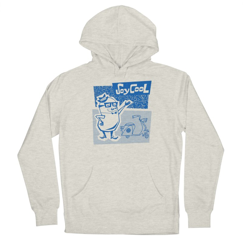 Soy Cool - blue Women's French Terry Pullover Hoody by Grasshopper Hill's Artist Shop