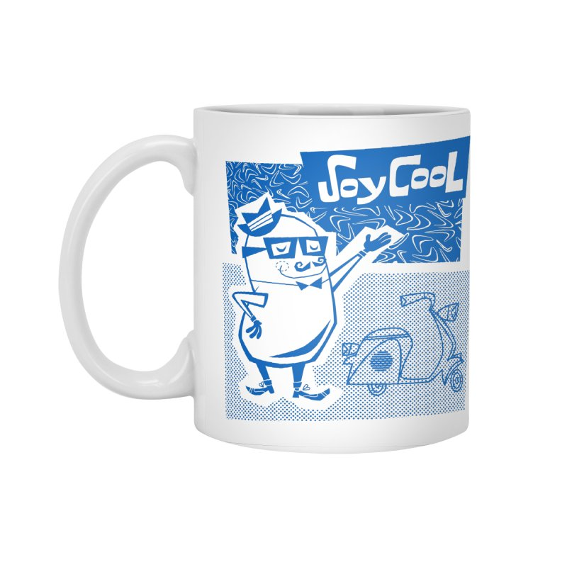 Soy Cool - blue Accessories Standard Mug by Grasshopper Hill's Artist Shop