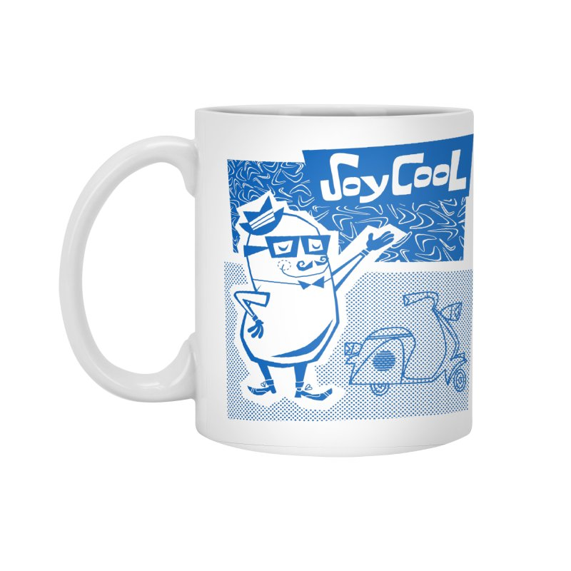 Soy Cool - blue Accessories Mug by Grasshopper Hill's Artist Shop