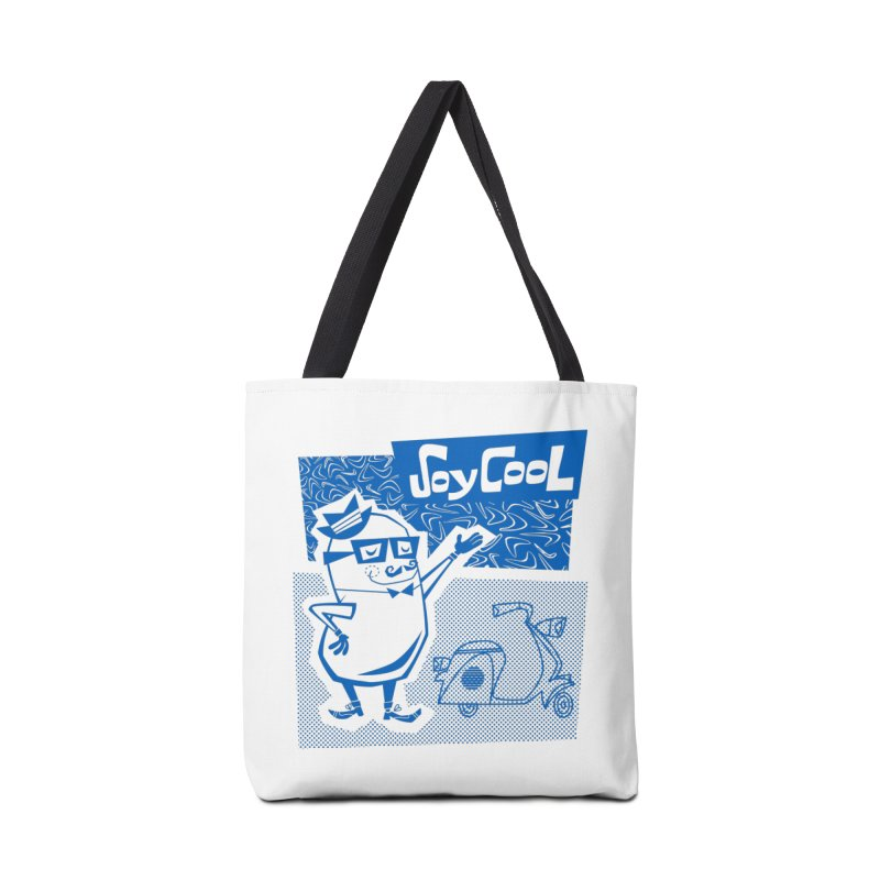 Soy Cool - blue Accessories Bag by Grasshopper Hill's Artist Shop