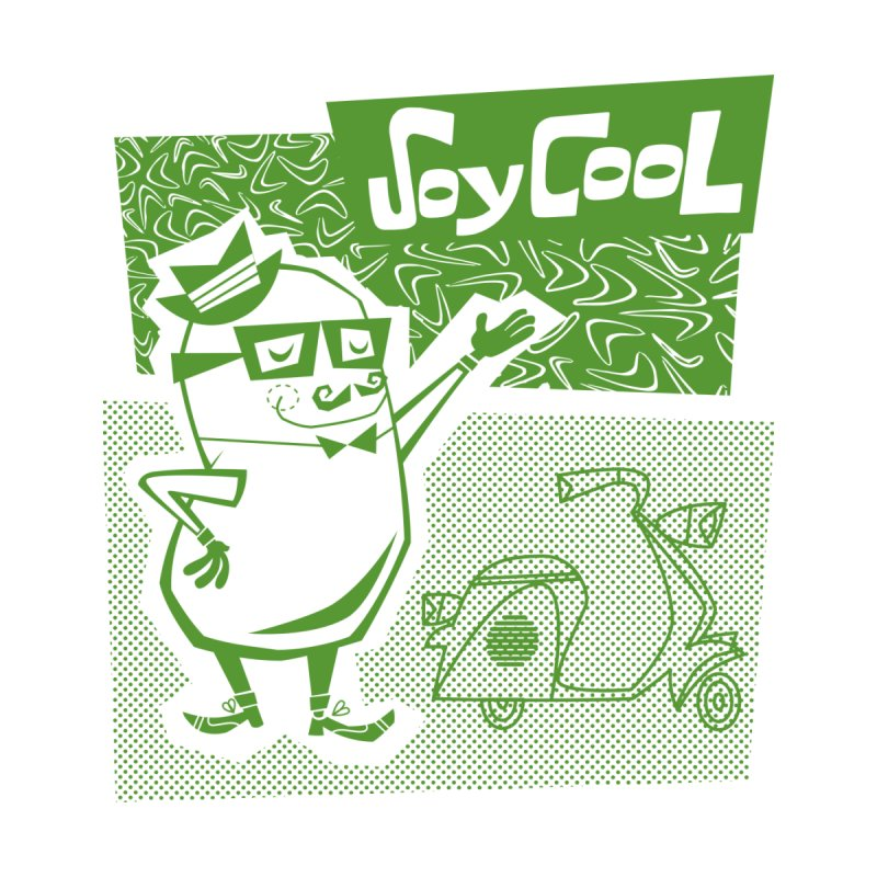 Soy Cool - green by Grasshopper Hill's Artist Shop