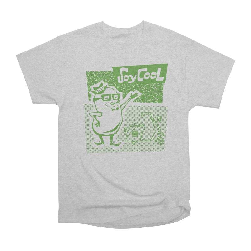 Soy Cool - green Men's Heavyweight T-Shirt by Grasshopper Hill's Artist Shop