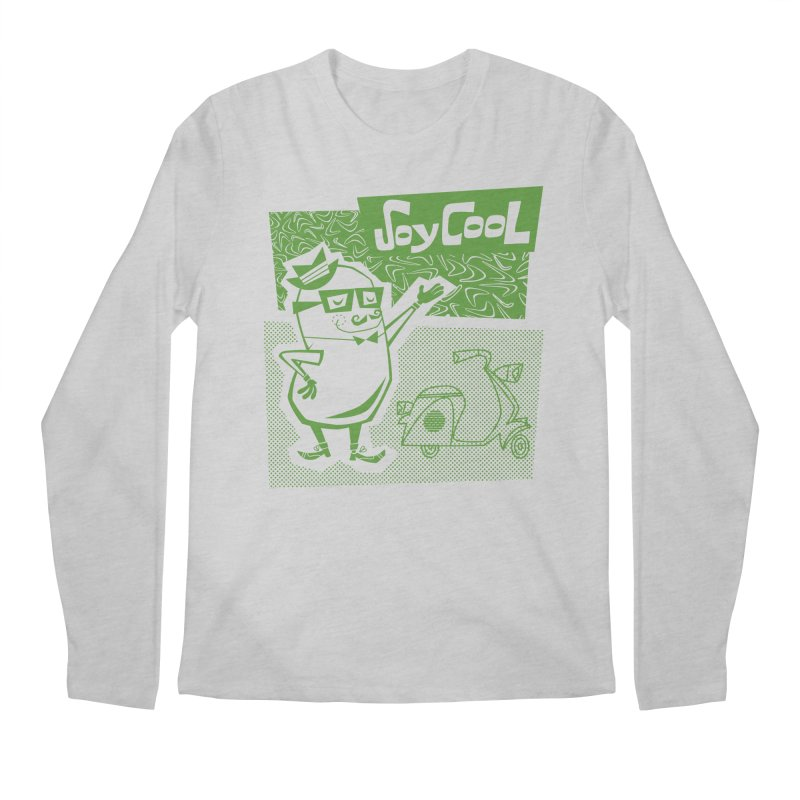 Soy Cool - green Men's Regular Longsleeve T-Shirt by Grasshopper Hill's Artist Shop