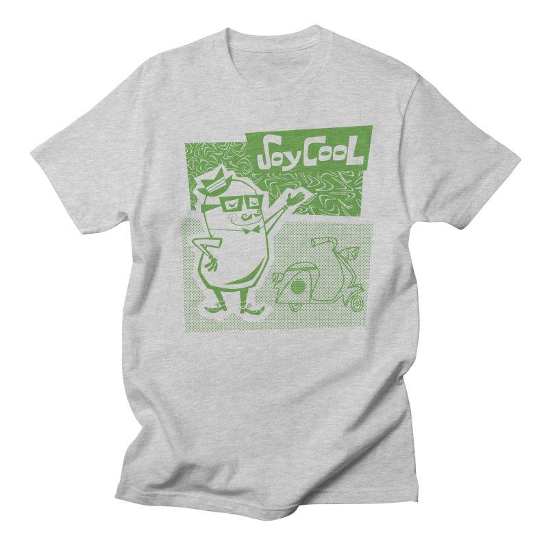 Soy Cool - green Men's Regular T-Shirt by Grasshopper Hill's Artist Shop