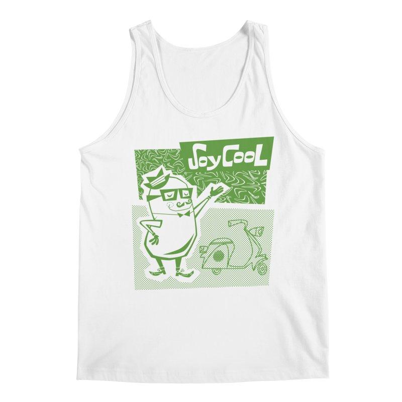 Soy Cool - green Men's Regular Tank by Grasshopper Hill's Artist Shop