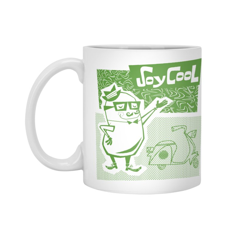 Soy Cool - green Accessories Standard Mug by Grasshopper Hill's Artist Shop