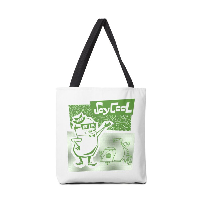 Soy Cool - green Accessories Bag by Grasshopper Hill's Artist Shop