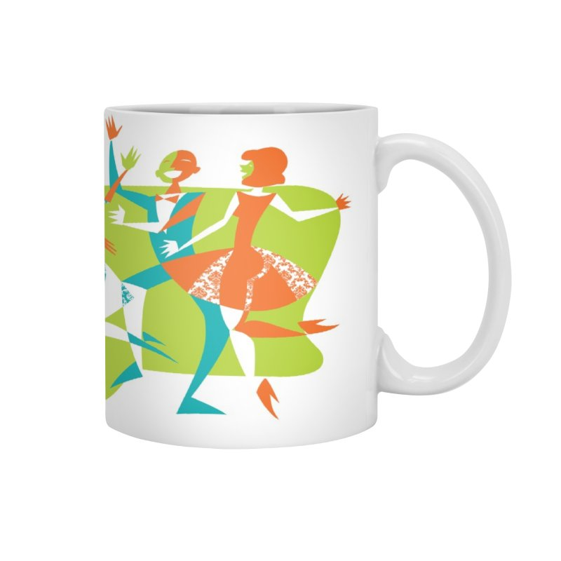 Dance Party Accessories Mug by Grasshopper Hill's Artist Shop