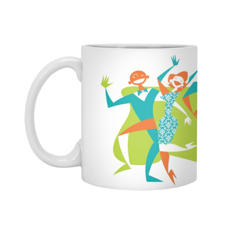 Dance Party Accessories Standard Mug by Grasshopper Hill's Artist Shop