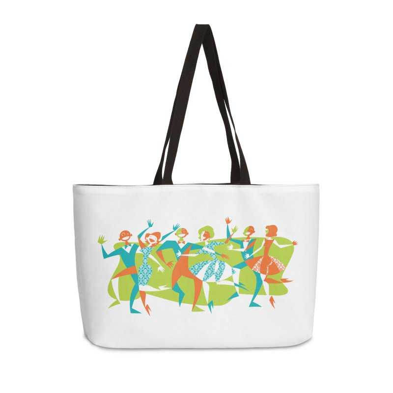 Dance Party Accessories Bag by Grasshopper Hill's Artist Shop
