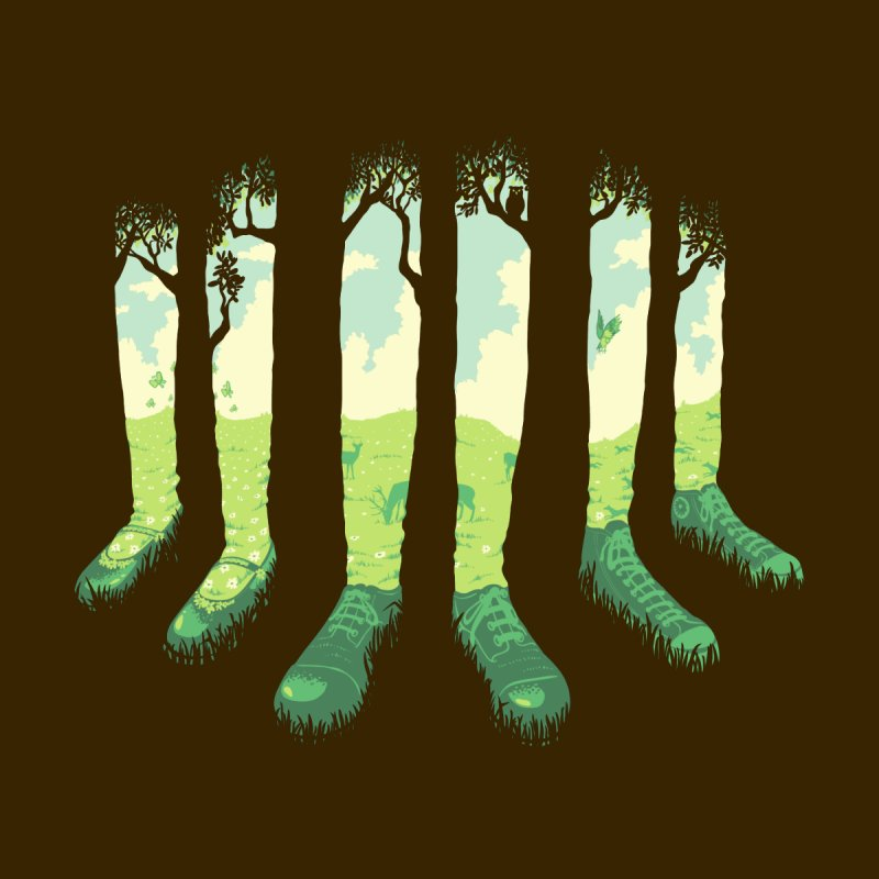 Can't See the Forest but for the Socks by grayehound